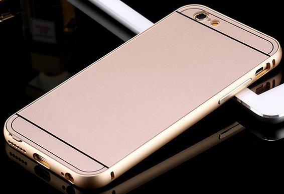 custodia iphone 6 plus oro
