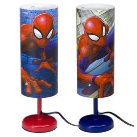 LAMPADA da COMODINO DISNEY MARVEL SPIDERMAN 32 cm