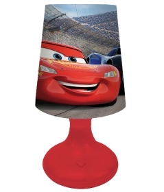 LAMPADA a LED DISNEY CARS - con Batteria e Pulsante On/Off