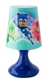 LAMPADA a LED PJMASKS - SUPER PIGIAMINI - con Batteria e Pulsante On/Off