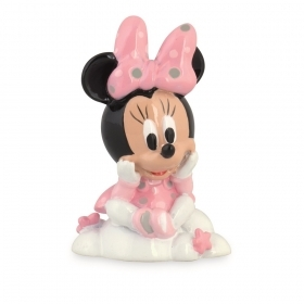 BOMBONIERA in Resina con SHOPPER - DISNEY MINNIE su Nuvola - 9 cm