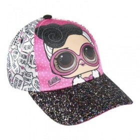 CAPPELLO con Visiera - BERRETTO - LOL SURPRISE glitter a