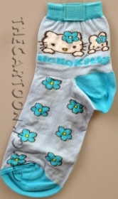 CALZINI Corti Disney SANRIO HELLO KITTY - NR° 35/40 b