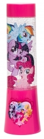 MINI LAMPADA LUMINOSA con GLITTER e Cambia colori MY LITTLE PONY a