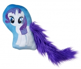 PELUCHE Cuscino con Coda MY LITTLE PONY RARITY KISSEN - 30 cm