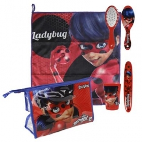 Beauty Case da viaggio con Accessori - MIRACULOUS LADYBUG