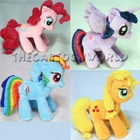 PELUCHE DISNEY MY LITTLE PONY Rainbow Dash Applejack  Twilight Sparkle Pinkie Pi