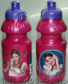 BORRACCIA in Plastica - DISNEY VIOLETTA - 350 ml