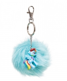 PORTACHIAVE PELUCHE con personaggio in Vinile MY LITTLE PONY rainbow dash