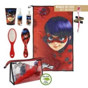 Beauty Case da viaggio con Accessori - MIRACULOUS LADYBUG A