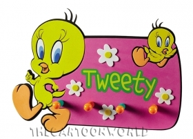 Appendiabiti DA PARETE DISNEY LOONEY TUNES TITTY - TWEETY