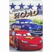 LENZUOLO PLAID COPERTA in PILE DISNEY CARS - 100x150 cm A