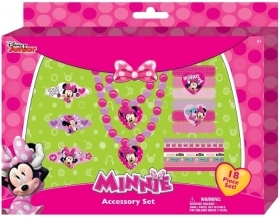 SET BELLEZZA DISNEY - MINNIE - Collana Bracciale e Accessori capelli