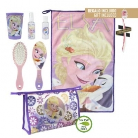 Beauty Case da viaggio con Accessori - DISNEY FROZEN ELSA