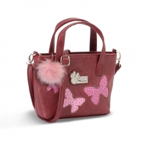 BORSA A MANO Messenger - in ECOPELLE - Disney Minnie  Marfly