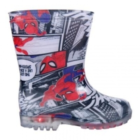 Stivale STIVALETTO PIOGGIA con LED MARVEL SPIDERMAN - dal 23 al 30