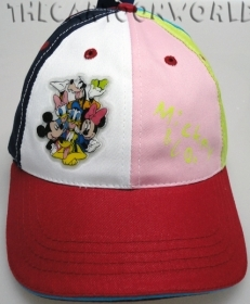 CAPPELLO con Visiera - BERRETTO Disney TOPOLINO E FRIENDS