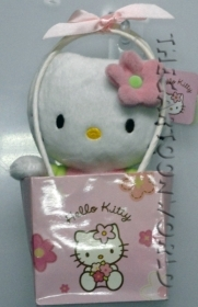 Peluche DISNEY SANRIO HELLO KITTY 15cm con SCATOLINA