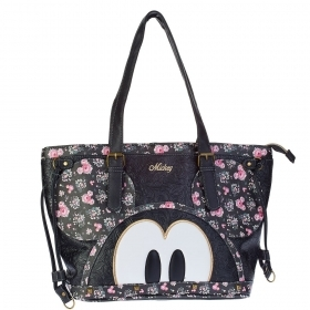 BORSA A SPALLA in ECOPELLE - Disney Minnie