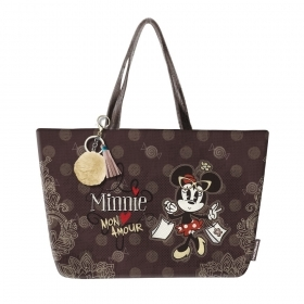 BORSA a Spalla Disney MINNIE Tote Bag 45 Mon Amour