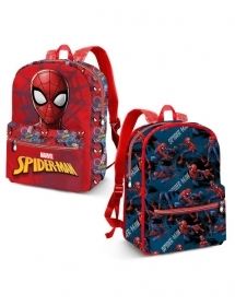 BORSA ZAINO Free Time Reversibile - MARVEL SPIDERMAN
