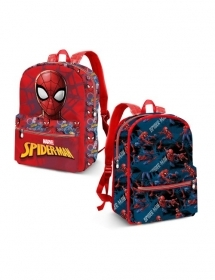 BORSA ZAINO ZAINETTO Asilo Reversibile - DISNEY MARVEL SPIDERMAN