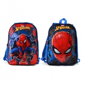 BORSA ZAINO ZAINETTO Asilo Reversibile - DISNEY MARVEL SPIDERMAN 37492