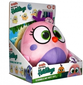 PELUCHE ANGRY BIRDS Hatchlings Scribble - 20 cm