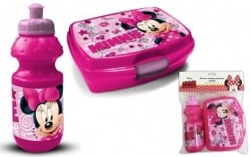 Portamerenda con BORRACCIA in Plastica - DISNEY MINNIE