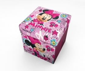 Pouf Contenitore con Cuscino DISNEY - MINNIE new