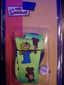 Charms STRAP for mobile phone the Simpsons MAGGIE