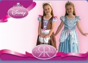 DRESS COSTUME CARNEVALE DISNEY 2 IN 1 3-4 YEARS ash