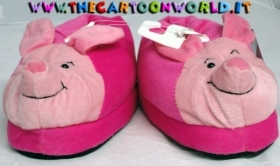 SLIPPERS CLOSED in PLUSH DISNEY WINNIE the pooh - PIGLET PIGLET - nr 29-32