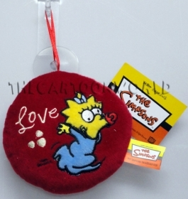 Cushion made of PLUSH with Suction cup DISNEY SIMPSONS - Maggie - 14 cm