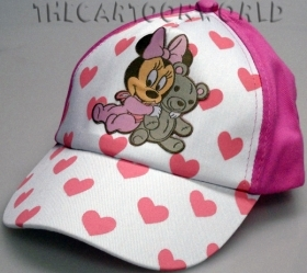 HAT with Visor - CAP Disney MINNIE mouse with teddy Bear