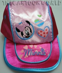 HAT with Visor - CAP Disney MINNIE with hearts - 50 cm