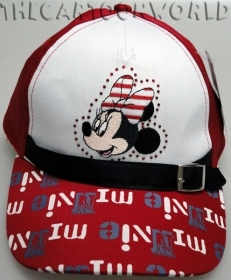 HAT with Visor - CAP Disney MINNIE red