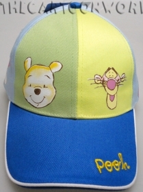 HAT with Visor - BEANIE Disney WINNIE THE POOH blue 52/54 cm