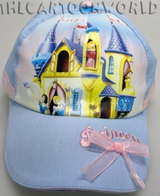 HAT with Visor - CAP of Disney PRINCESSES - pink 52 cm