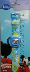 WRIST WATCH with Projector DISNEY MICKEY mouse