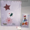 DIARY AGENDA in the Fabric of the SCHOOL DISNEY Daisy duck DAISY - 12 Months - pink