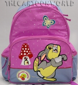 BACKPACK the BACKPACK Folder and School DISNEY - TAMBOURINE TIPETTE The friend of Bambi