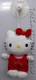 Plush with Suction cup, DISNEY SANRIO HELLO KITTY 17 cm