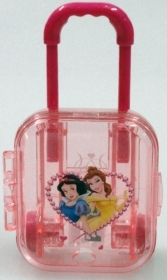 SET SCHOOL Stationery - pencil SHARPENER Trolley - Disney PRINCESSES