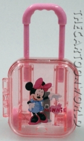 SET SCUOLA Cancelleria - TEMPERAMATITE Trolley - Disney MINNIE fucsia