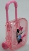 SET SCUOLA Cancelleria - TEMPERAMATITE Trolley - Disney MINNIE rosa