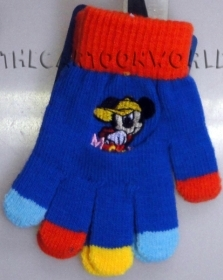 GLOVES MAGICAL, COLORFUL DISNEY MICKEY mouse Colour Blue