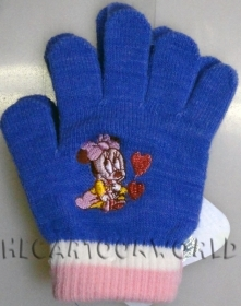 GUANTI MAGICI COLORATI DISNEY MINNIE - Colore viola
