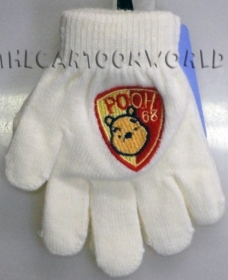 GLOVES MAGICAL, COLORFUL DISNEY WINNIE THE POOH - white Color