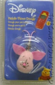 Cell phone charm Plush DISNEY - WINNIE THE POOH - PIGLET